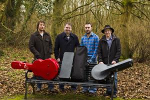 Craobh Rua Photo (Jim Rainey, Desy McCabe, Conor Caldwell,  Brian Connolly)